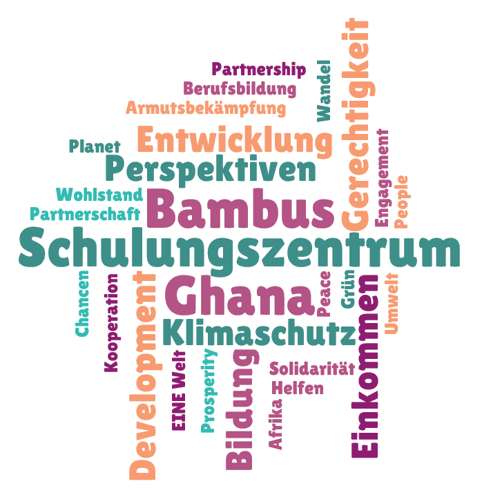 Entwicklungszusammenarbeit, Ghana, Bambus, Gerechtigkeit, Perspektiven, Klimaschutz, Umwelt